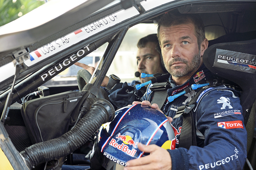 s bastien loeb pilote officiel peugeot en rallye raid en 2016 argus automobile de tunisie. Black Bedroom Furniture Sets. Home Design Ideas