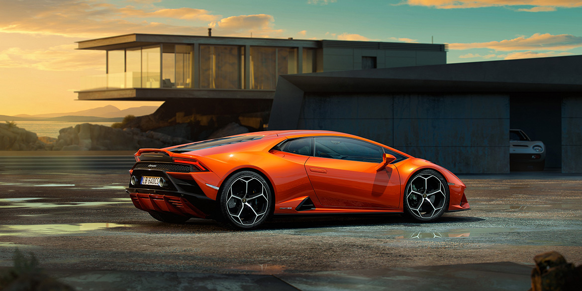 Huracan EVO side ambient