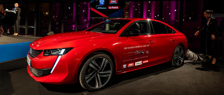La nouvelle PEUGEOT 508: La plus belle voiture de l'année 2018