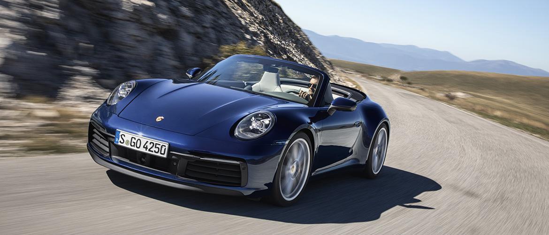 Porsche annonce l'arrivée de la nouvelle 911 Cabriolet
