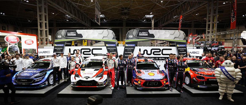 WRC 2019 : les nouvelles voitures se dévoilent