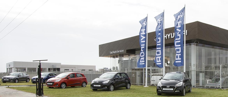 Hyundai prend la tête des ventes des véhicules particuliers