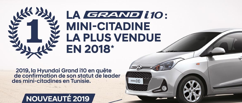 Hyundai Grand i10: La mini-citadine la plus vendue en 2018