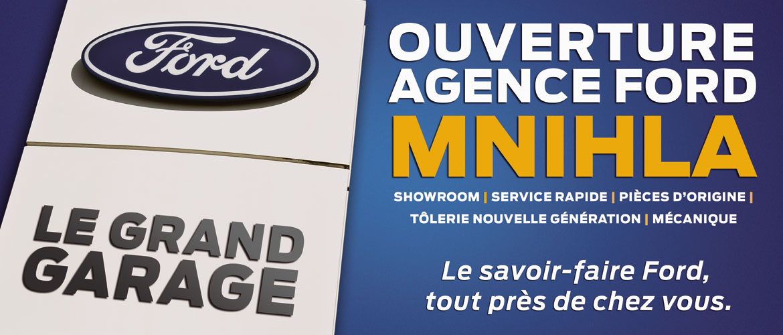 Alpha Ford inaugure sa nouvelle agence 3S à Mnihla