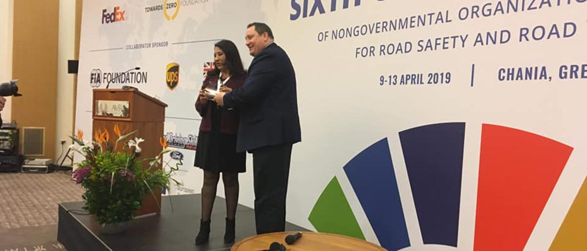 L'ASR reçoit le Prestigieux FedEx Road Safety  Award 2019