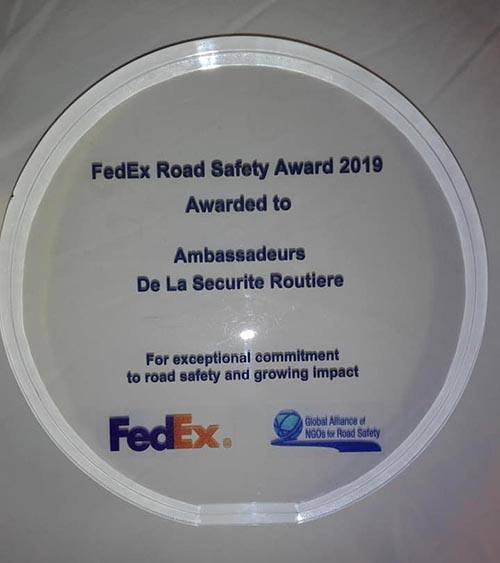 FedEx Road Safety Award