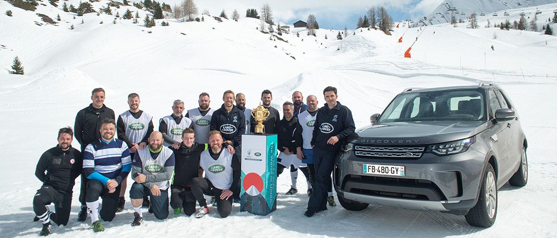 Land Rover et la Coupe du Monde de Rugby