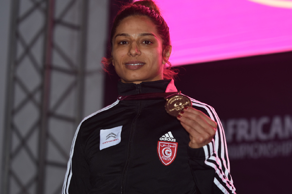 MARWA AMRI CHAMPIONNE D'AFRIQUE