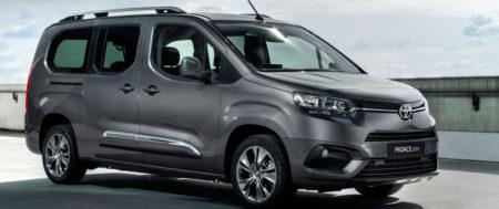 Toyota présente le ludospace ProAce City Verso