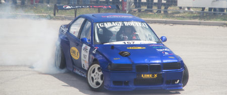 La Première Manche Du Tunisia Drift Championship