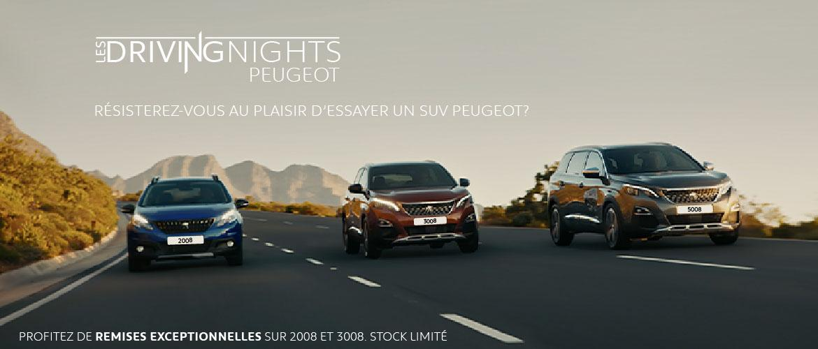 STAFIM PEUGEOT organise ses Driving Nights ramadanesques