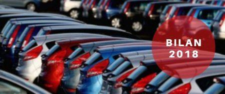 Marché de l'automobile: bilan de l'année 2018