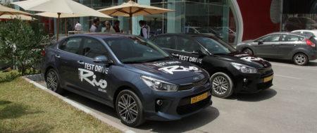 La nouvelle Kia Rio Berline a l'essai du 17 au 21 Juin au Kram