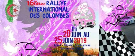 Le Rallye International des Colombes se déroulera du 20 au 25 Juin 2019