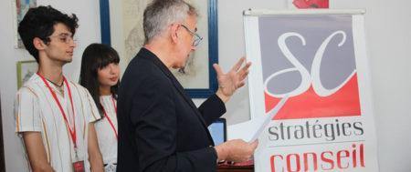 STRATEGIES CONSEIL se refait une beauté et dévoile son nouveau logo