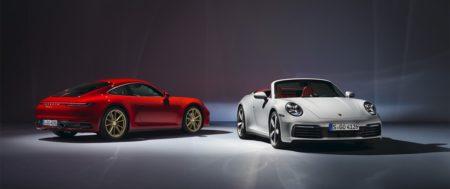 Porsche dévoile les nouvelles 911 Carrera Coupé et Cabriolet