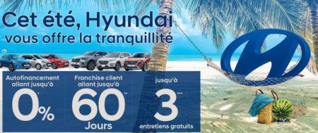 HYUNDAI MOTOR TUNISIA ET SES PROMOS ÉTÉ 2019