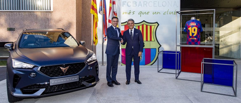 CUPRA annonce une alliance mondiale avec le FC Barcelone
