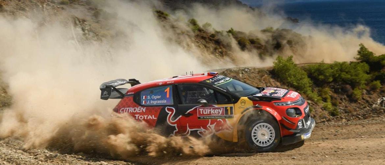 Sébastien Ogier (Citroën) remporte le Rallye de Turquie