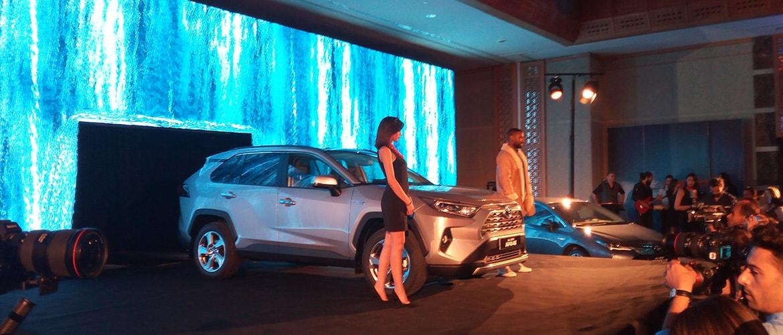 Toyota présente sa gamme hybride pour la première fois en Tunisie