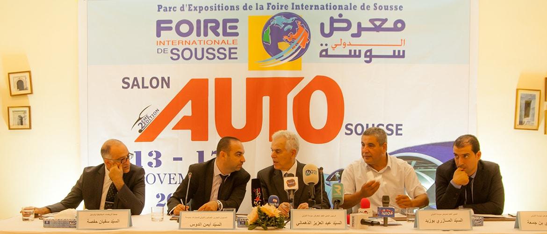 Le salon AUTO Expo aura lieu du 13 au 17 novembre 2019 à Sousse
