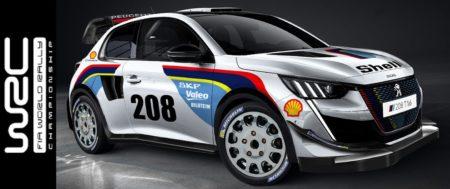 Peugeot de retour en WRC avec la 208 T16, pilotée par Sébastien Loeb.