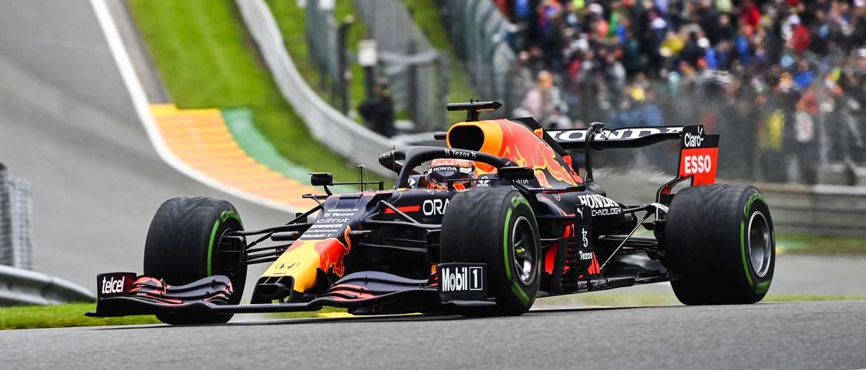 Max Verstappen remporte l'événement Rain-Marred en Belgique