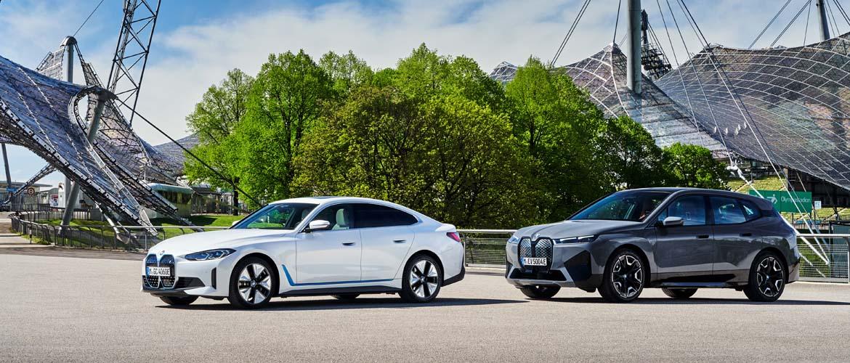 Le groupe BMW à l'IAA Mobility 2021 à Munich